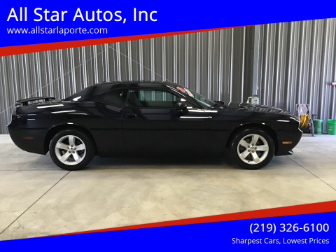 2011 Dodge Challenger for sale at All Star Autos, Inc in La Porte IN