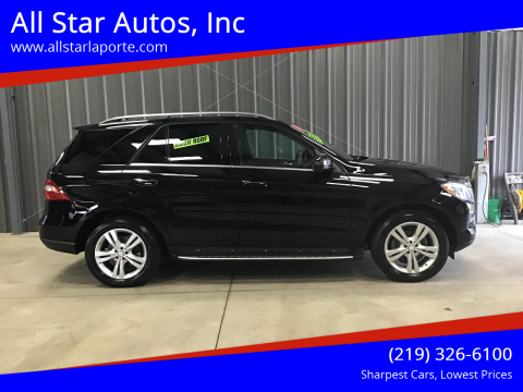 2014 Mercedes-Benz M-Class for sale at All Star Autos, Inc in La Porte IN