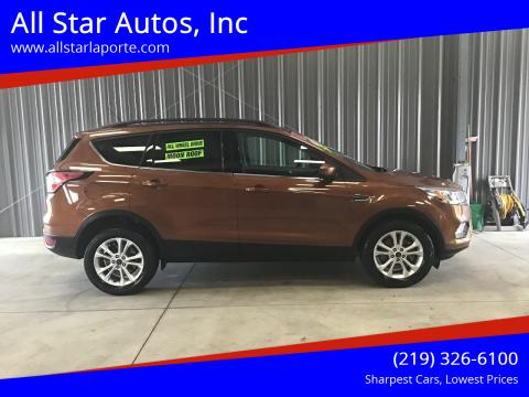 2017 Ford Escape for sale at All Star Autos, Inc in La Porte IN