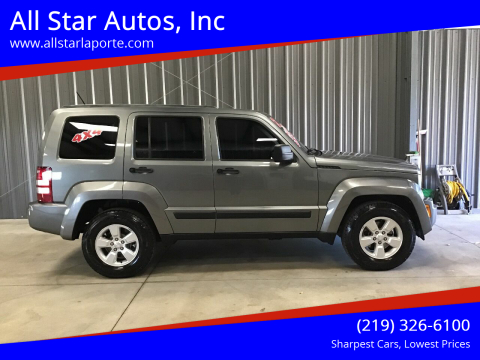 2012 Jeep Liberty for sale at All Star Autos, Inc in La Porte IN