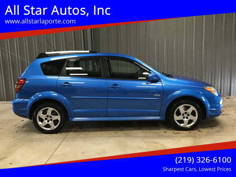 2007 Pontiac Vibe for sale at All Star Autos, Inc in La Porte IN