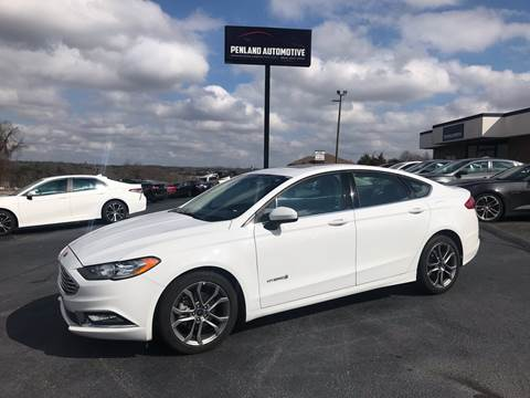 2017 Ford Fusion Hybrid for sale in Taylors, SC