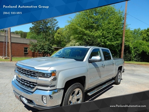 2016 Chevrolet Silverado 1500 for sale in Taylors, SC