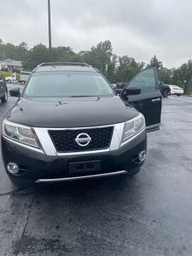 2013 Nissan Pathfinder for sale at Penland Automotive Group in Taylors SC