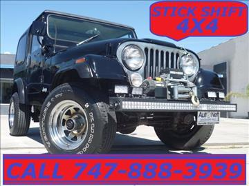 1985 Jeep CJ-7 for sale in Woodland Hills, CA