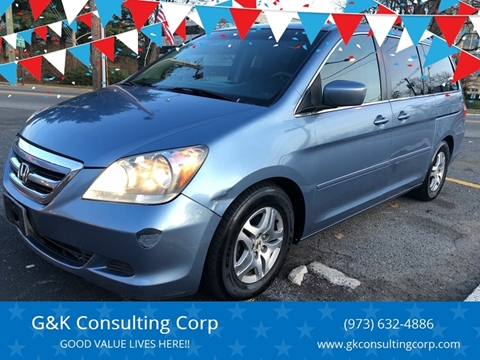 2005 Honda Odyssey EX for sale at G&K Consulting Corp in Fair Lawn NJ
