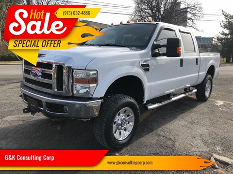 2008 Ford F-250 Super Duty XLT for sale at G&K Consulting Corp in Fair Lawn NJ