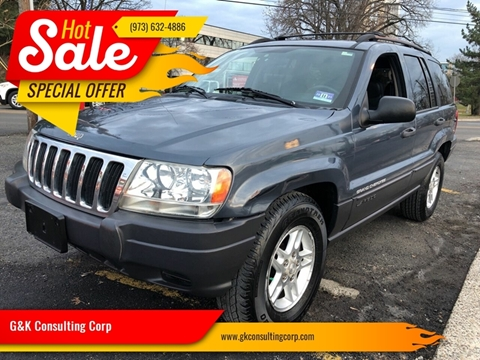2003 Jeep Grand Cherokee Laredo for sale at G&K Consulting Corp in Fair Lawn NJ