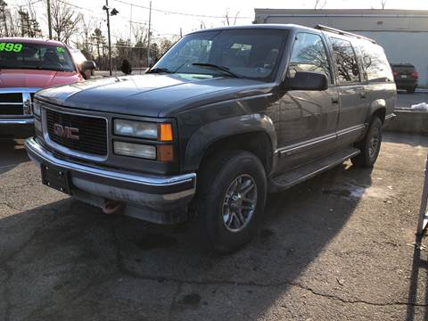 1999 GMC Suburban K1500 SLT for sale at G&K Consulting Corp in Fair Lawn NJ
