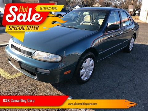 1994 Nissan Altima GXE for sale at G&K Consulting Corp in Fair Lawn NJ