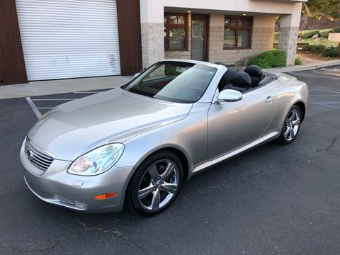 2002 Lexus SC 430 for sale at Inland Valley Auto in Upland CA