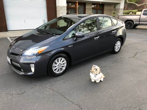 2012 Toyota Prius Plug-in Hybrid for sale at Inland Valley Auto in Upland CA
