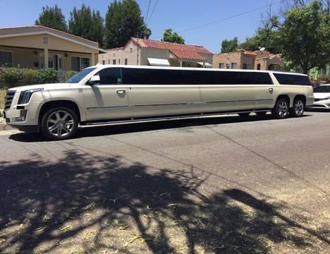 2015 Cadillac Escalade ESV for sale at American Limousine Sales in Los Angeles CA
