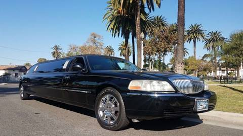 2008 Lincoln Town Car for sale at American Limousine Sales in Los Angeles CA