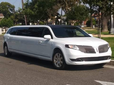 2013 Lincoln MKT for sale at American Limousine Sales in Los Angeles CA
