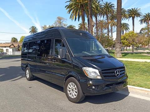 2016 Mercedes-Benz Sprinter for sale at American Limousine Sales in Los Angeles CA