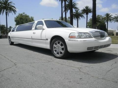 2003 Lincoln Town Car for sale at American Limousine Sales in Los Angeles CA