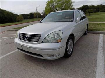 2002 Lexus LS 430 for sale in Denton, TX