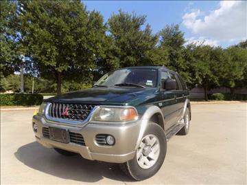2000 Mitsubishi Montero Sport for sale in Denton, TX