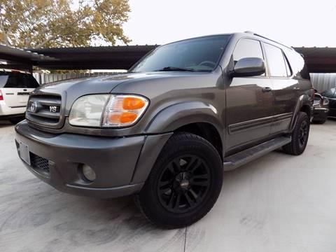 2003 Toyota Sequoia for sale in Denton, TX