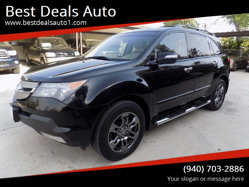Acura Mdx SHAWD Dr SUV WTechnology Package In Denton TX - Best tires for acura mdx
