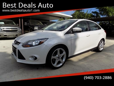 2013 Ford Focus for sale in Denton, TX