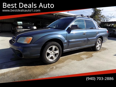 2005 Subaru Baja for sale in Denton, TX