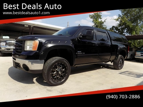 2009 GMC Sierra 2500HD for sale in Denton, TX