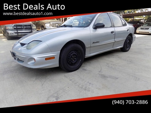 2001 Pontiac Sunfire for sale in Denton, TX