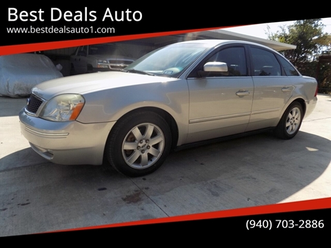 2006 Ford Five Hundred for sale in Denton, TX