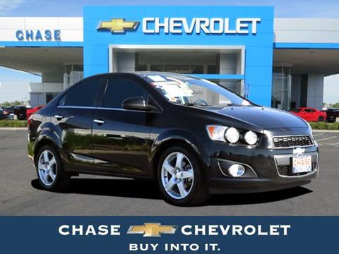 2016 Chevrolet Sonic for sale in Stockton CA
