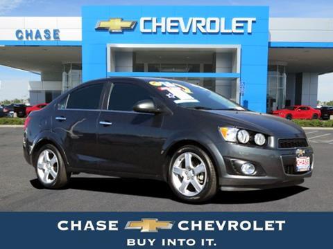 2016 Chevrolet Sonic for sale in Stockton CA