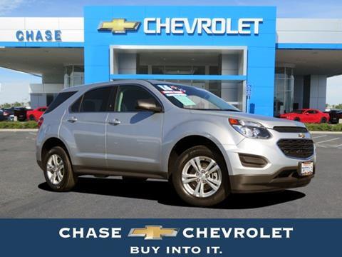 2016 Chevrolet Equinox for sale in Stockton CA