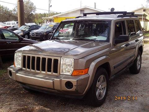 2006 Jeep Commander for sale in New Port Richey, FL