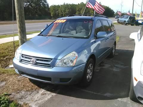 2008 Kia Sedona for sale in New Port Richey, FL
