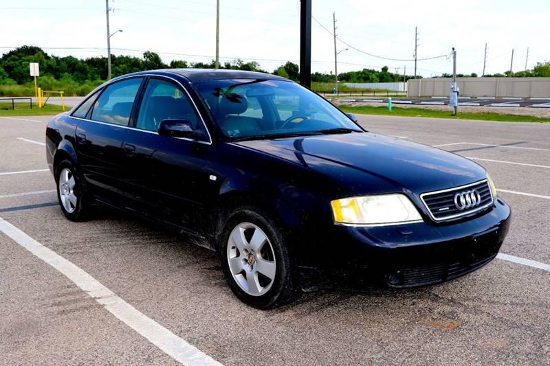 Audi A AWD T Quattro Dr Sedan In Sugarland TX Westwood - 2001 audi a6