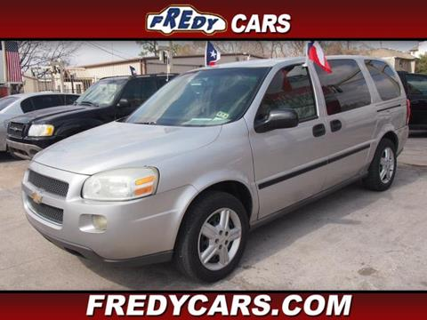 2005 Chevrolet Uplander for sale in Houston, TX