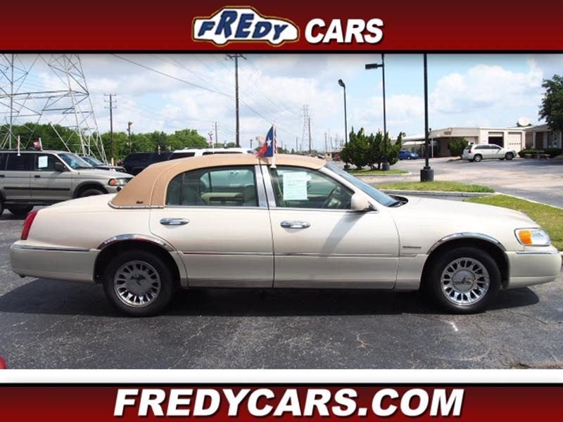 2002 Lincoln Town Car Cartier In Houston Tx Fredy Cars For Less