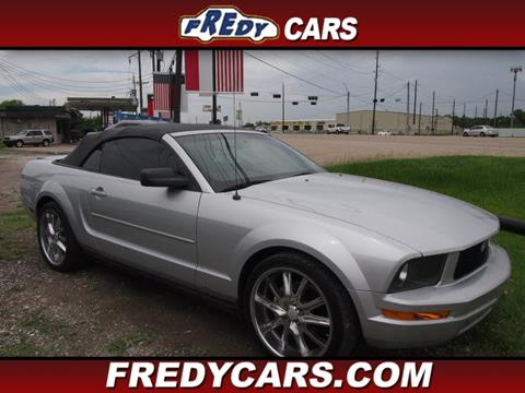 2007 ford mustang for sale in houston tx. Black Bedroom Furniture Sets. Home Design Ideas