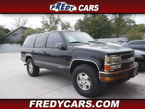 1995 Chevrolet Tahoe For Sale In Houston Tx