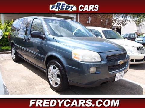 2007 Chevrolet Uplander for sale in Houston, TX