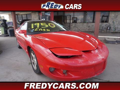 2001 Pontiac Firebird for sale in Houston, TX