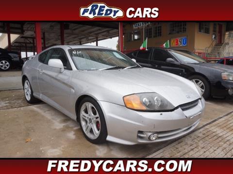 2004 Hyundai Tiburon for sale in Houston, TX