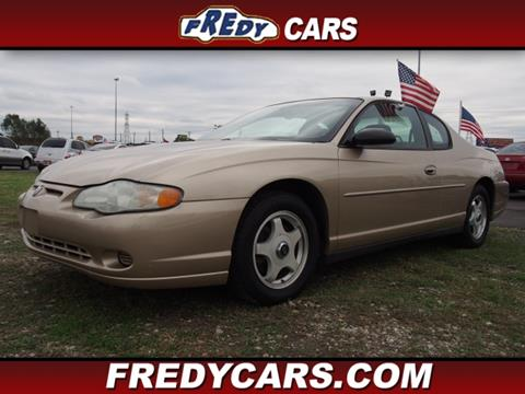 2004 Chevrolet Monte Carlo for sale in Houston, TX