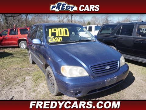 2002 Kia Sedona for sale in Houston, TX