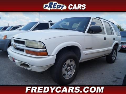 2003 Chevrolet Blazer for sale in Houston, TX