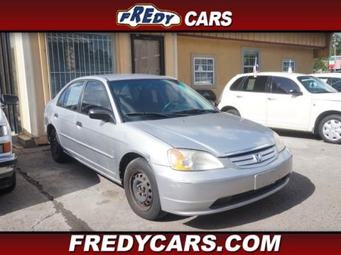 2001 Honda Civic For Sale In Texas
