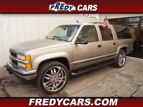 1999 Chevrolet Suburban For Sale In Texas Carsforsale Com