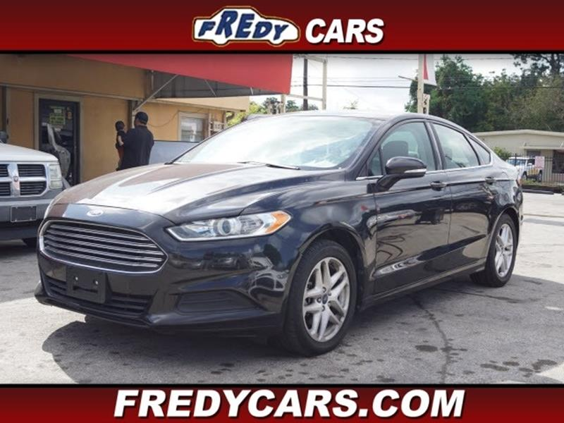 2014 Ford Fusion For Sale In Houston