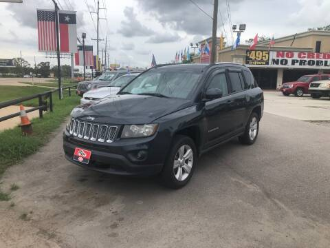 2014 Jeep Compass for sale at FREDY CARS FOR LESS in Houston TX